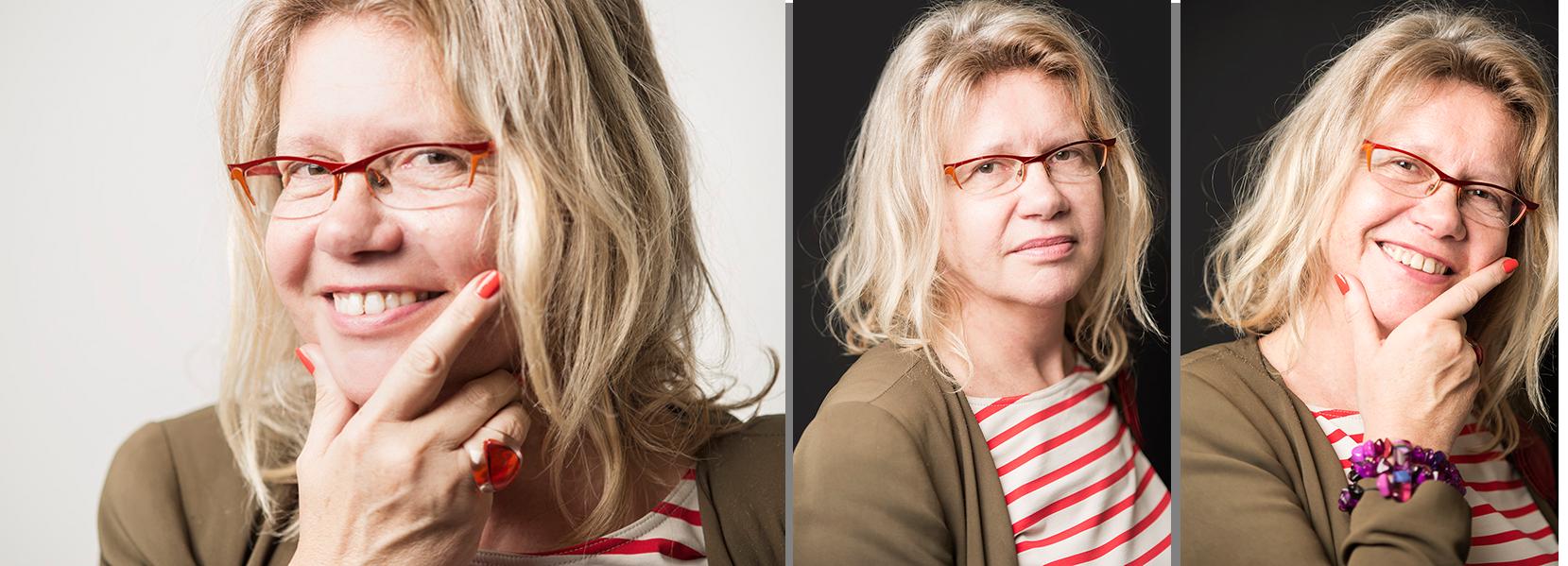 réalisation de portraits pour le site web