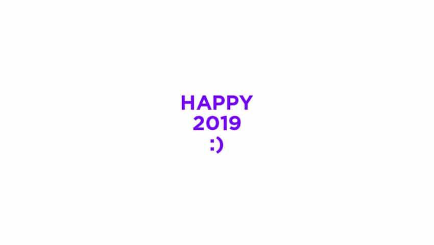 carte voeux 2019 design