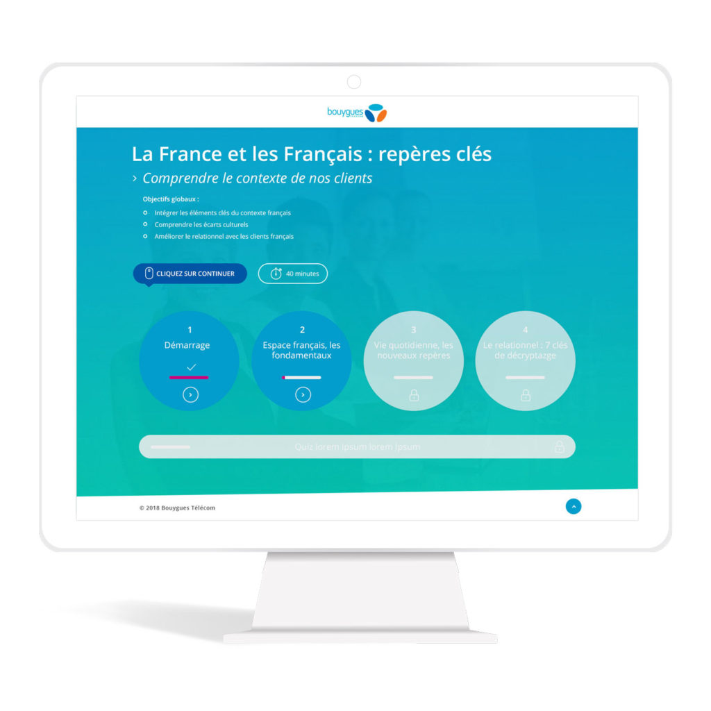 webdesign module elearning bouygues telecom