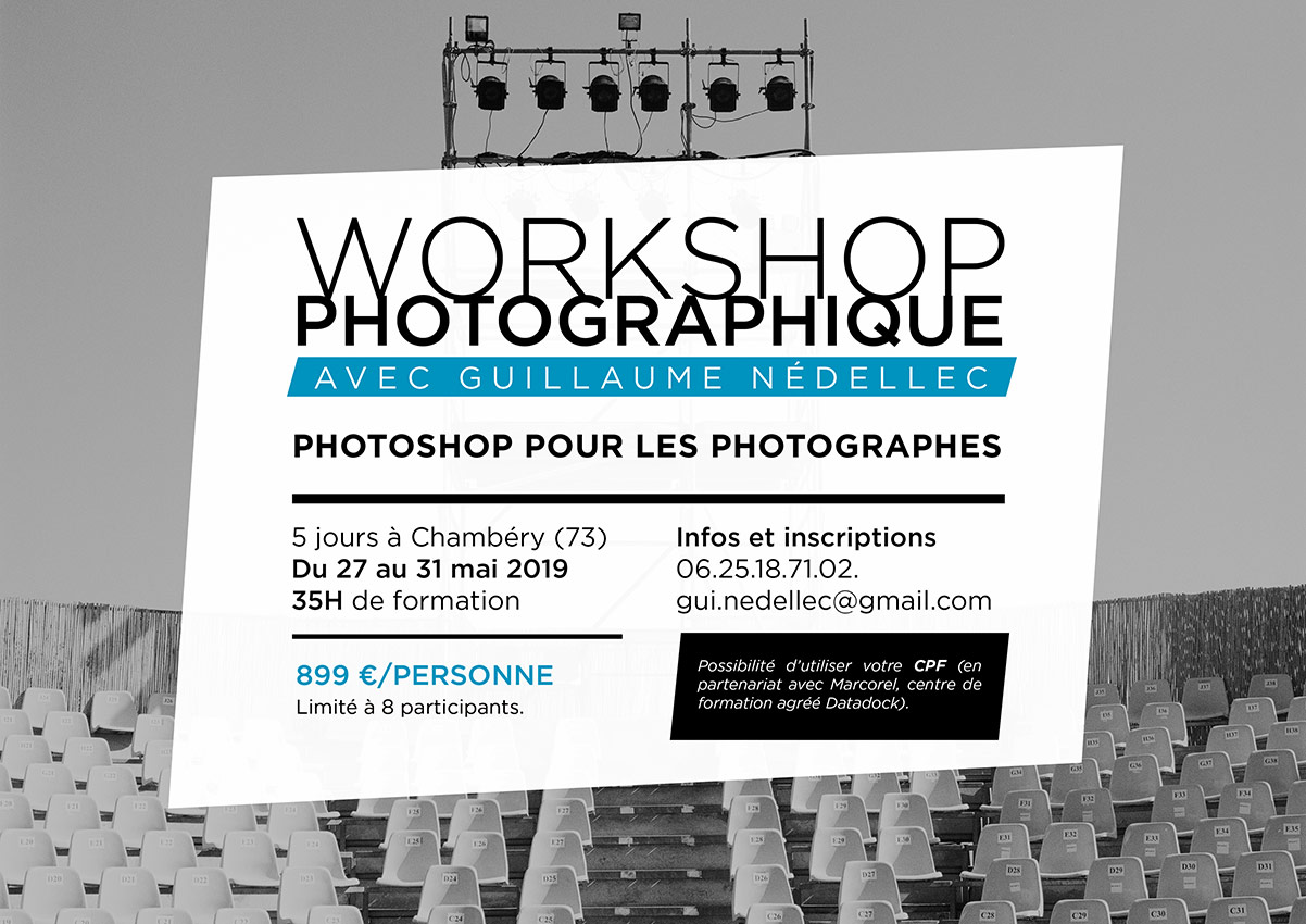 Workshop photographique à Chambéry