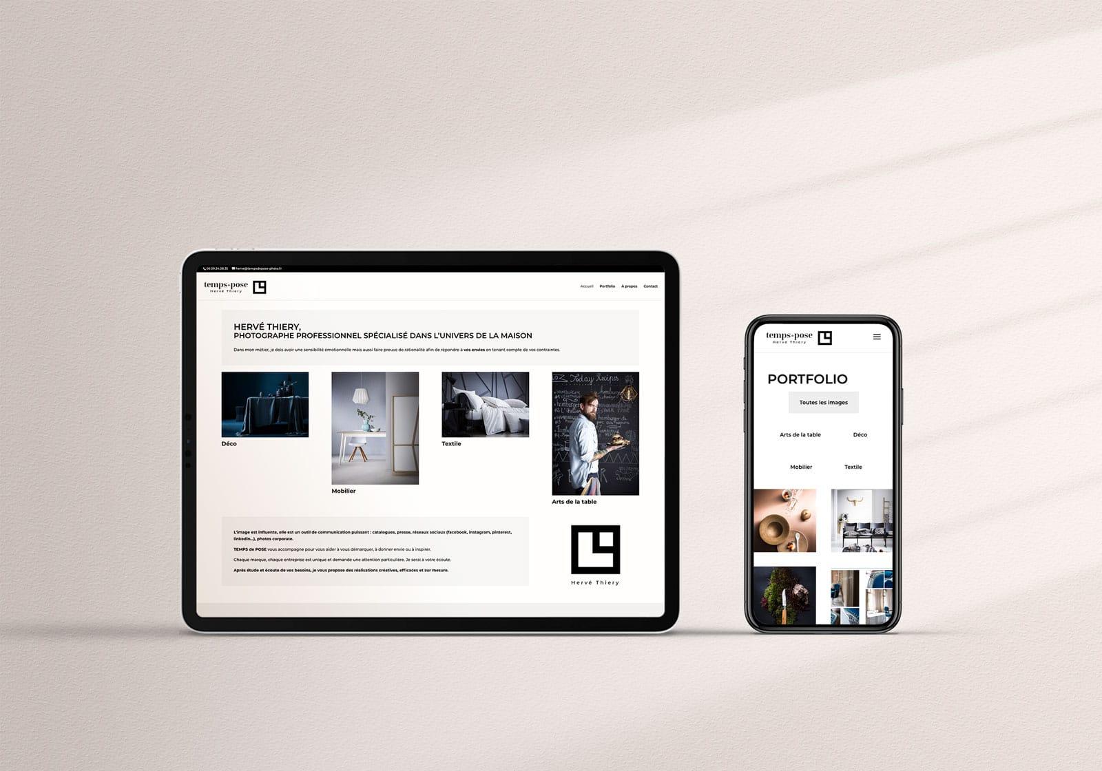creation site vitrine web