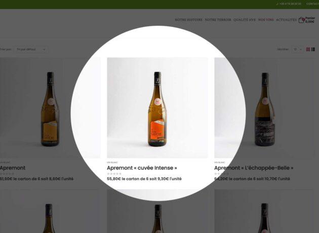 Lancement de la boutique en ligne des Vins Adrien Veyron