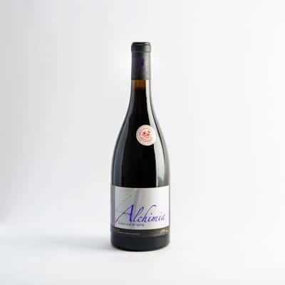 packshot vins de savoie mondeuse cuvee alchimia adrien veyron et fils