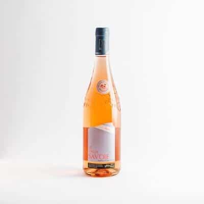 packshot vins de savoie rose adrien veyron et fils