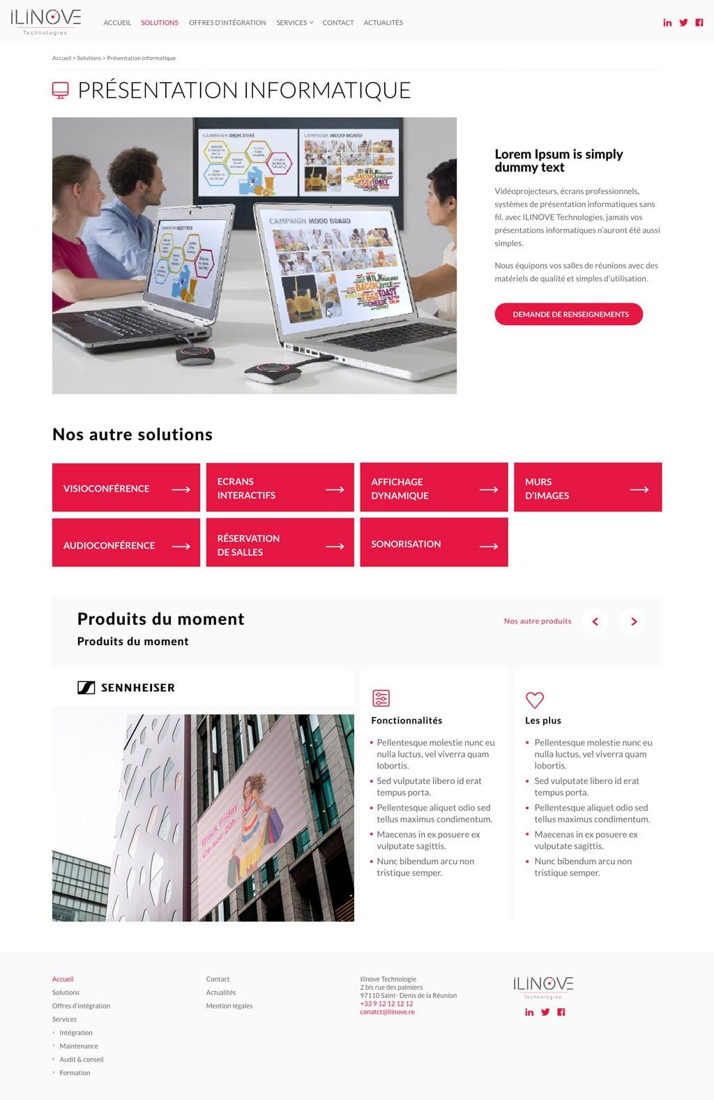 webdesign ui design adobe xd